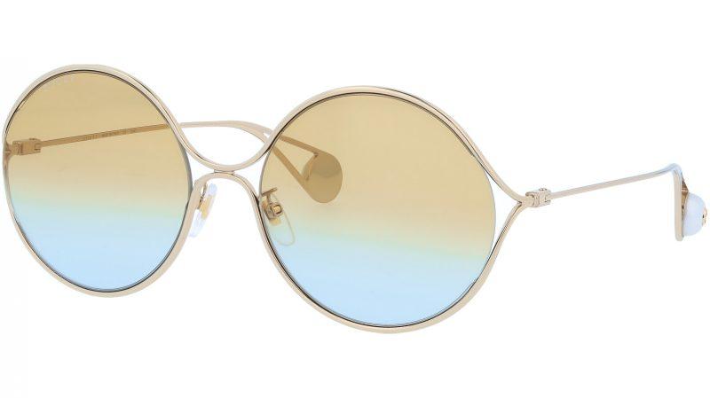 GUCCI GG0253SA 005 60 GOLD Sunglasses