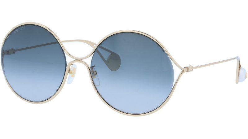 GUCCI GG0253SA 001 60 GOLD Sunglasses