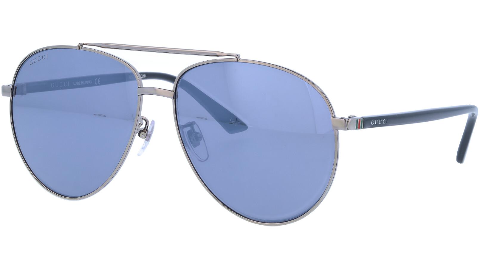 GUCCI GG0043SA 001 61 RUTHENIUM Sunglasses