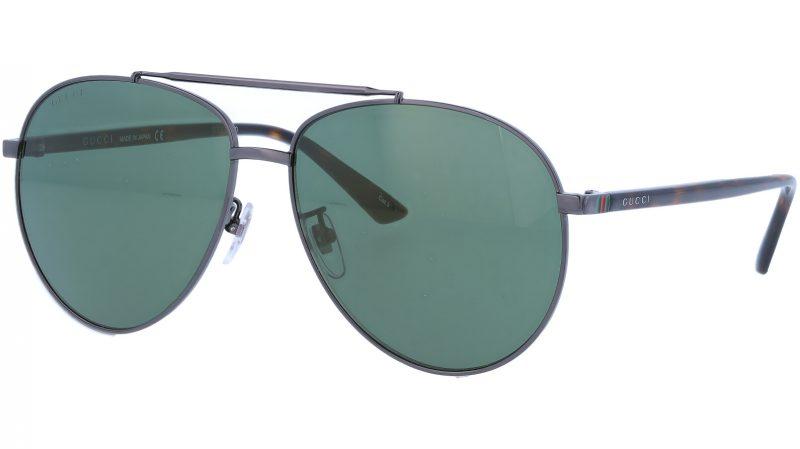 GUCCI GG0043SA 003 61 RUTHENIUM Sunglasses