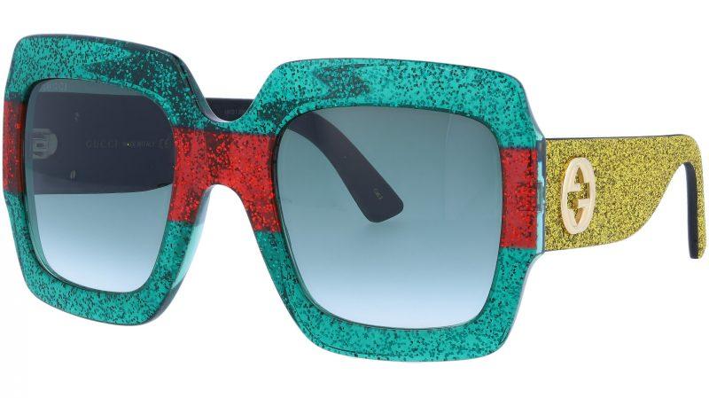 GUCCI GG0102S 006 54 MULTICOLOR Sunglasses
