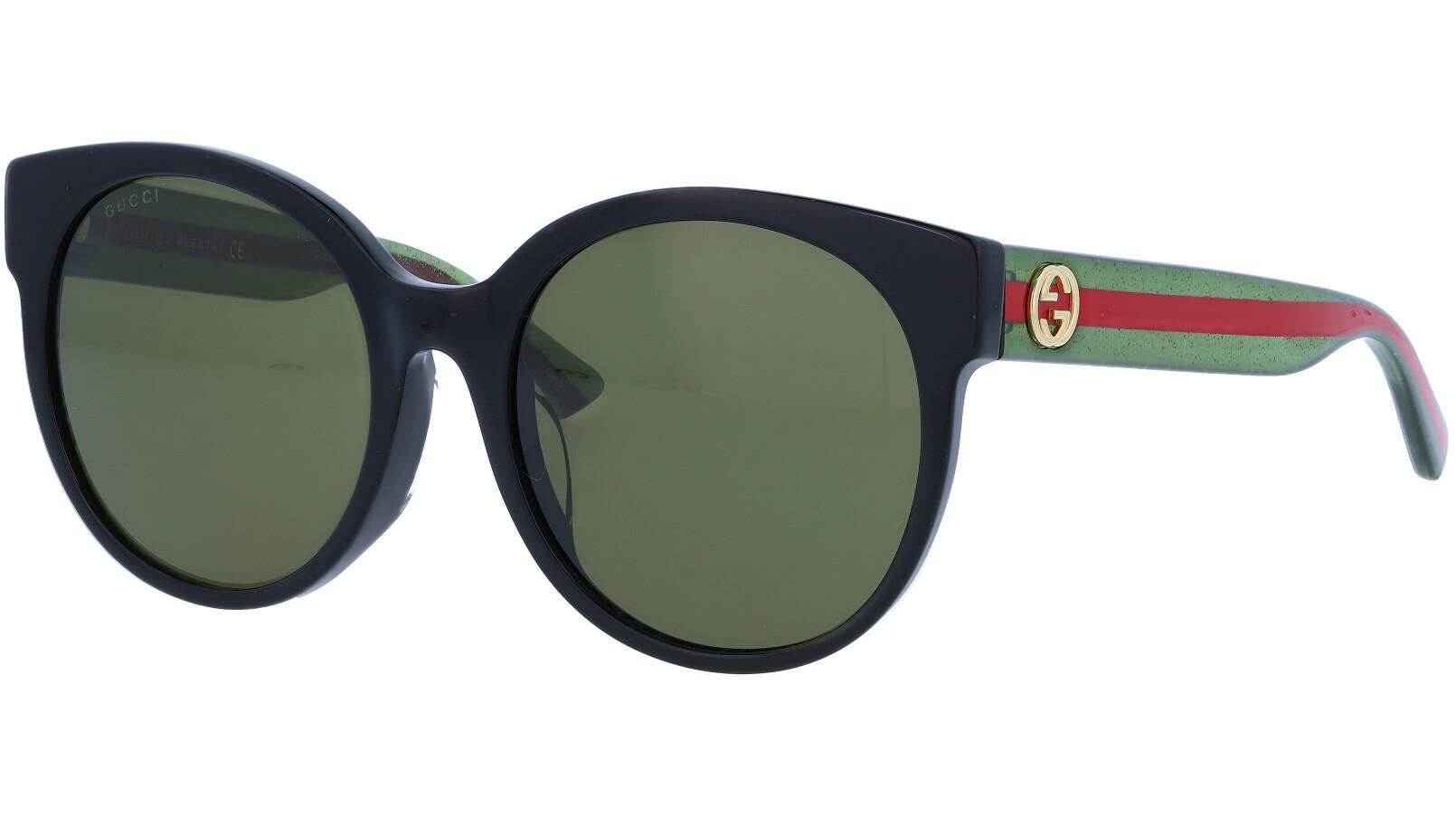 GUCCI GG0035S 001 54 BLACK Sunglasses