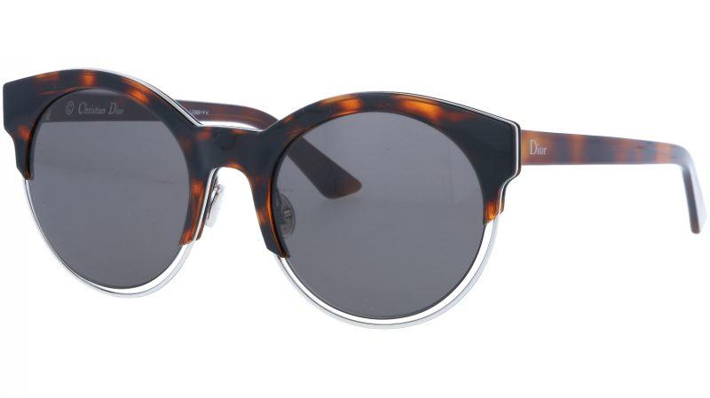 DIOR DIORSIDERAL1 J6ANR 53 HVNA Sunglasses