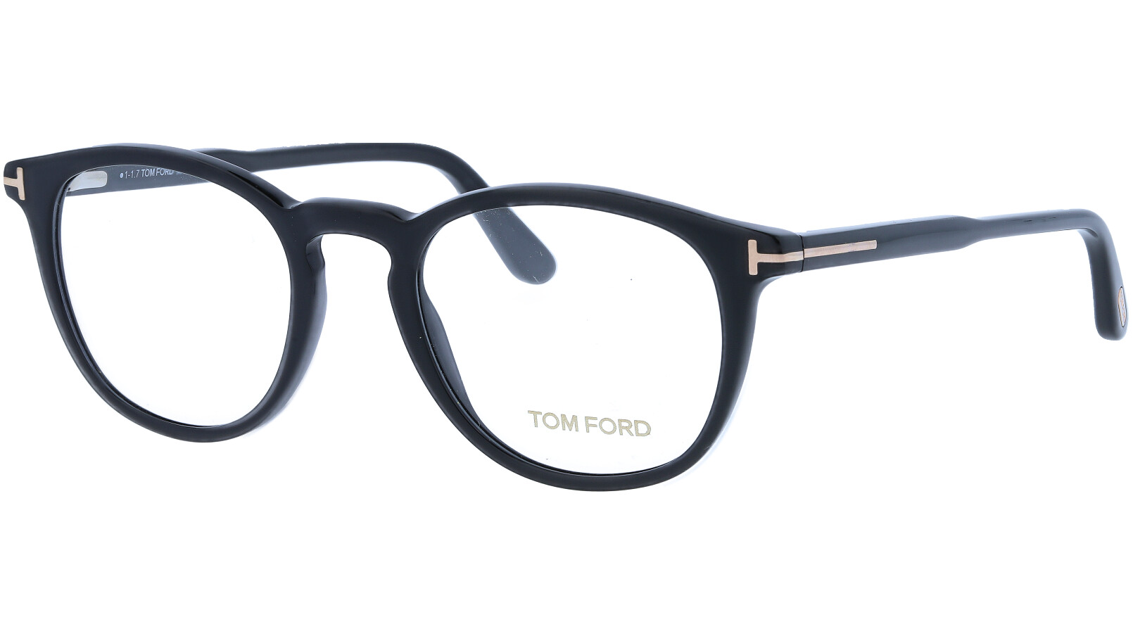 Tom Ford TF5401 001 49 Black Glasses