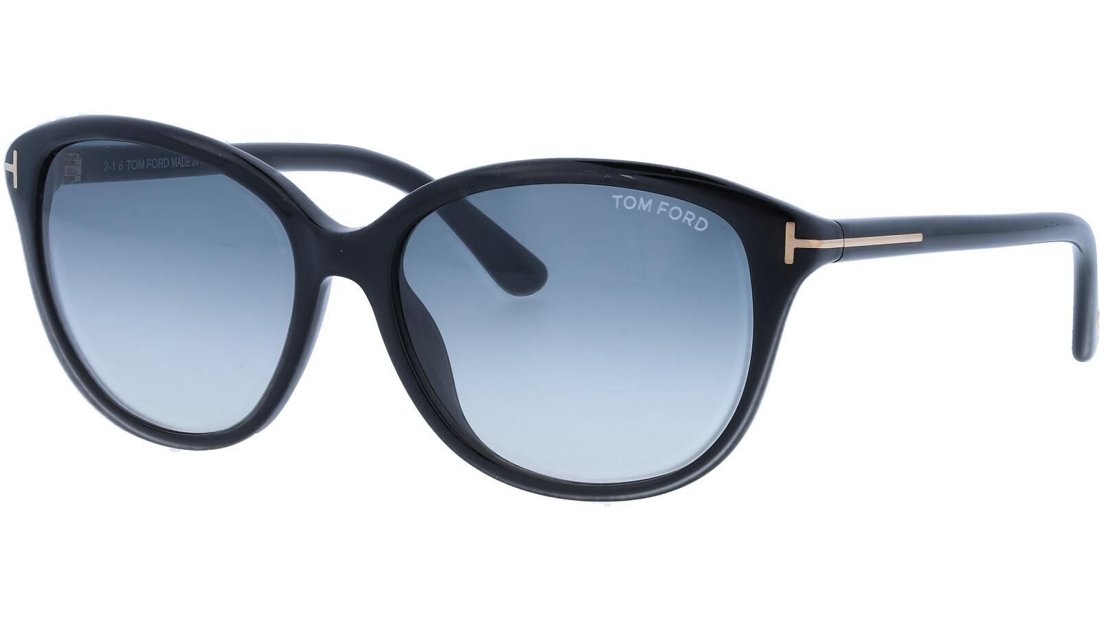 Tom Ford TF329 01B 57 Black Sunglasses