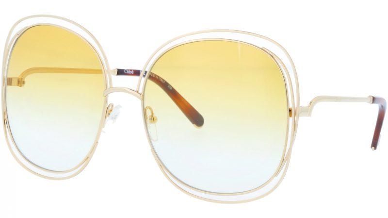 Chloé CE126S 802 62 Gold Sunglasses