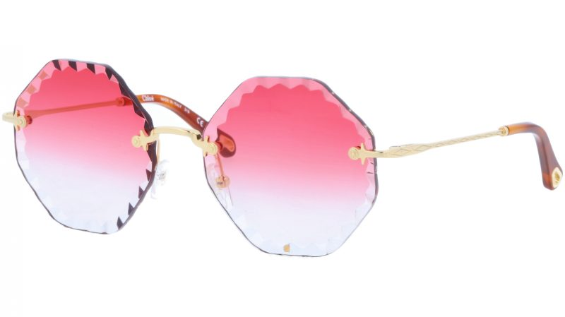 CHLOE Rosie CE143S 823 58 Gold Coral Sunglasses