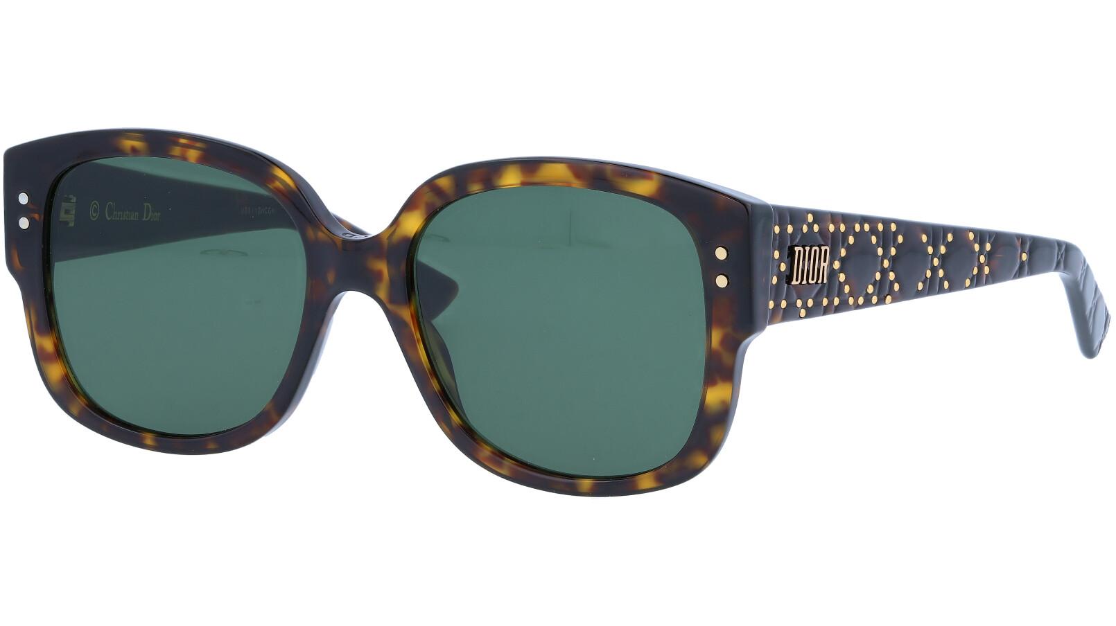 Dior LADYDiorSTUDS4F 807IR 55 Black Sunglasses