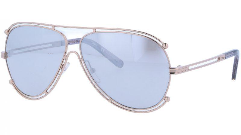 Chloé CE121S 744 61 Gold Isidora Aviator Sunglasses