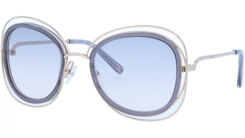 Chloé CE123S 731 56 Gold Grey Carlina Sunglasses