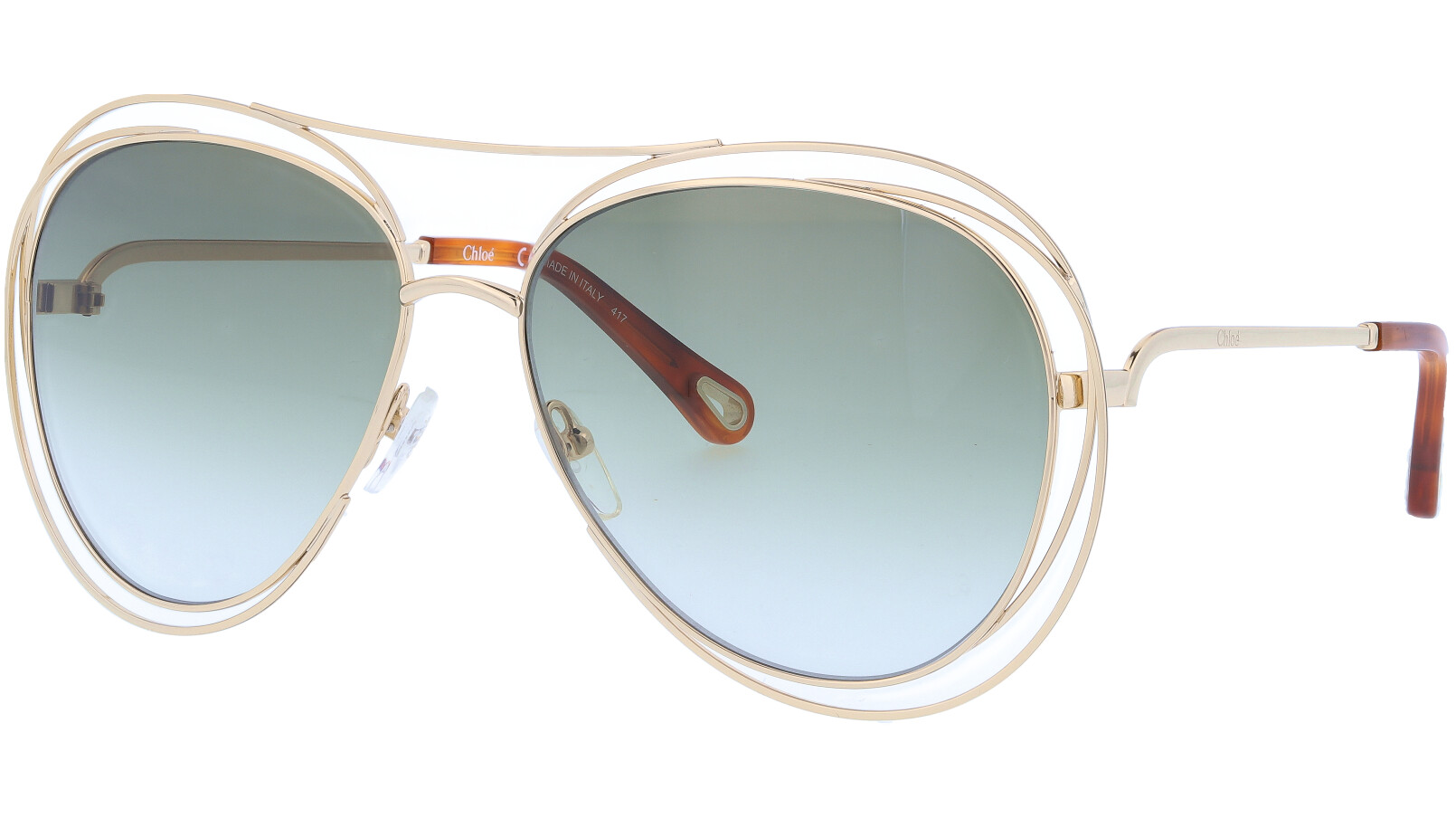 CHLOE CE134S 792 61 GOLD Sunglasses