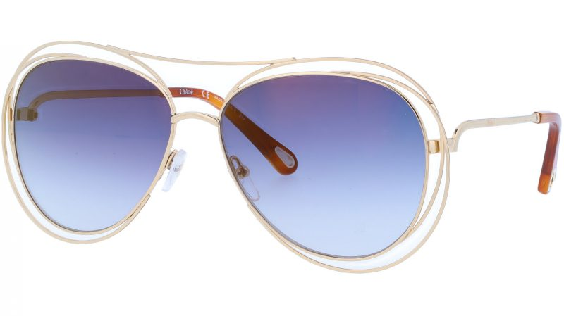CHLOE CE134S 793 61 GOLD Sunglasses