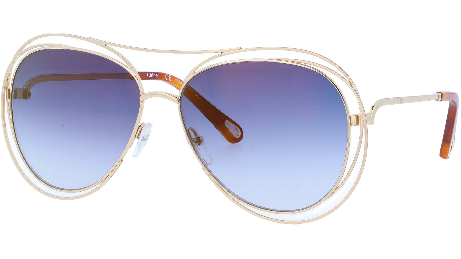 CHLOE CE134S 793 61 GOLD Sunglasses