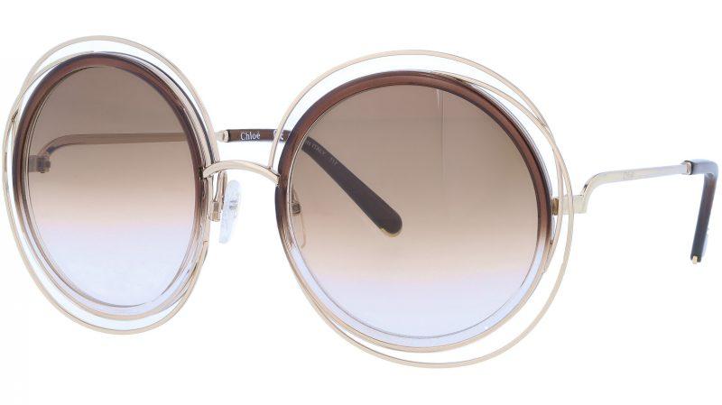 CHLOE CE120S 742 58 Gold Gradient Sunglasses