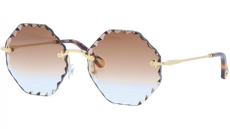 CHLOE Rosie CE143S 742 58 Gold Brown Sunglasses