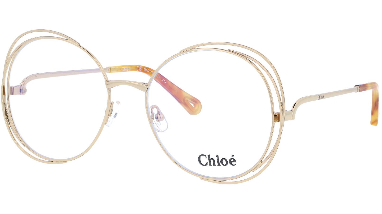 CHLOE CE2138 717 56 GOLD Glasses