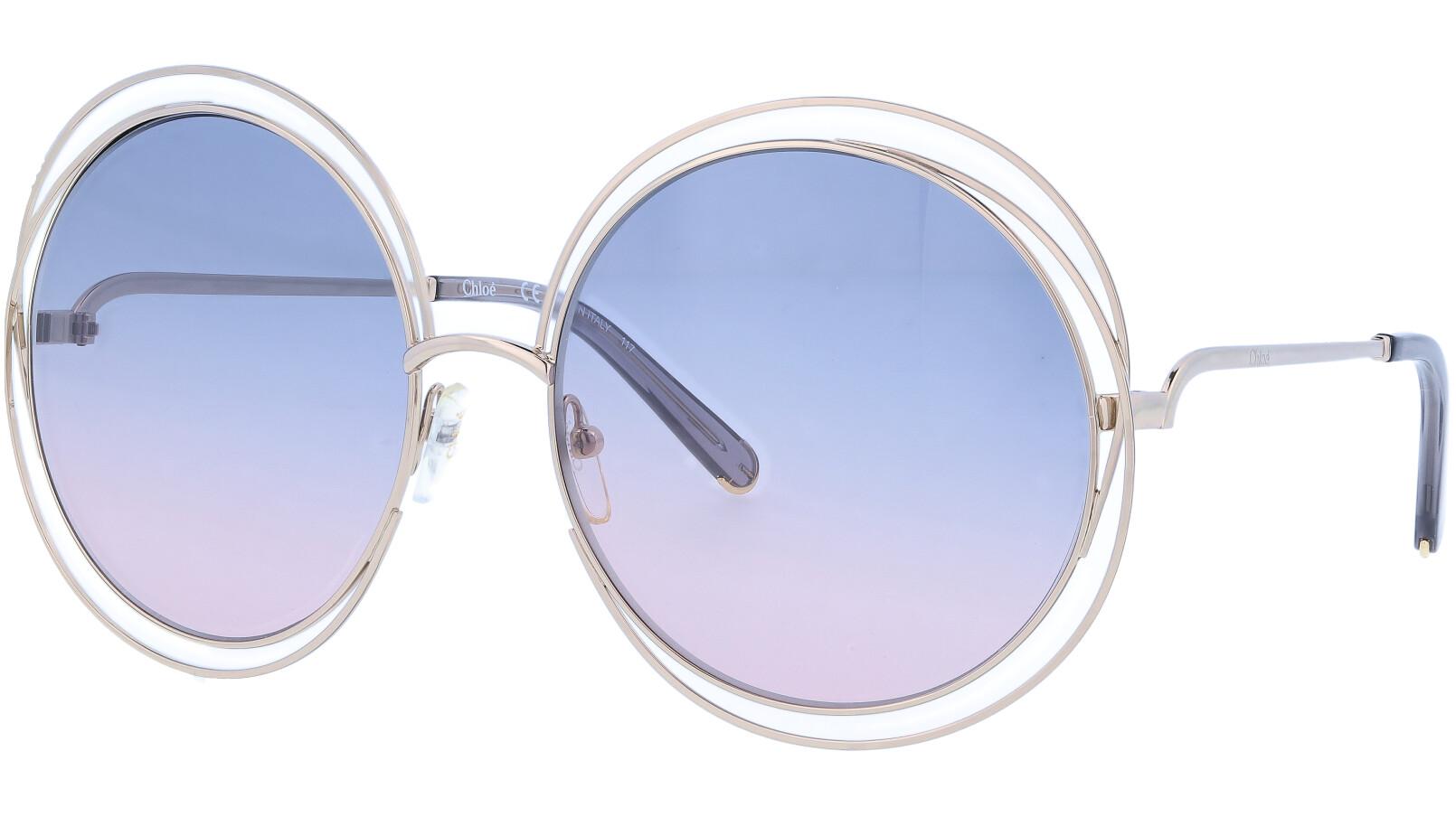 CHLOE CE114S 770 62 Gold Grey Carlina Sunglasses
