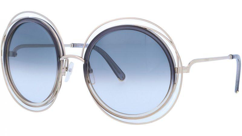 CHLOE CE120S 774 58 Gold Gradient Sunglasses