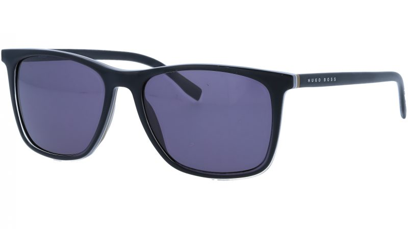HUGO BOSS BOSS0760S QHIY1 55 BLACK Sunglasses