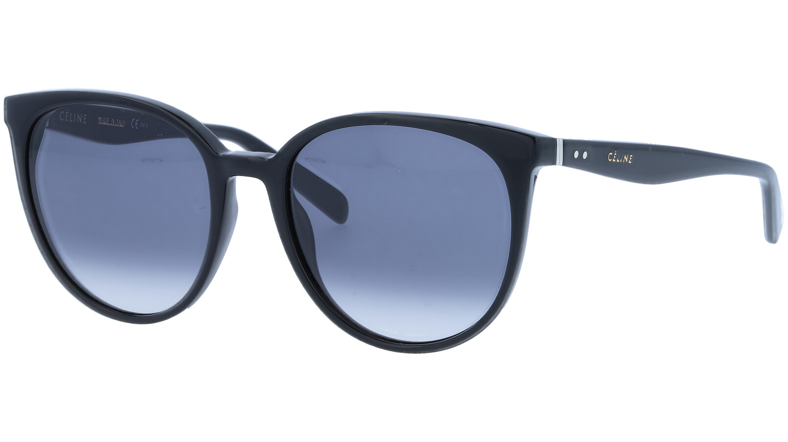 CELINE CL41068S 807 55 BLACK Sunglasses