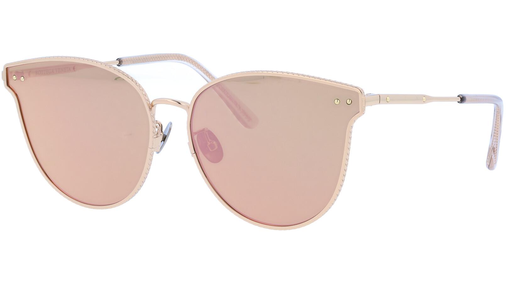 BOTTEGA VENETA BV0157SK 001 63 GOLD Sunglasses