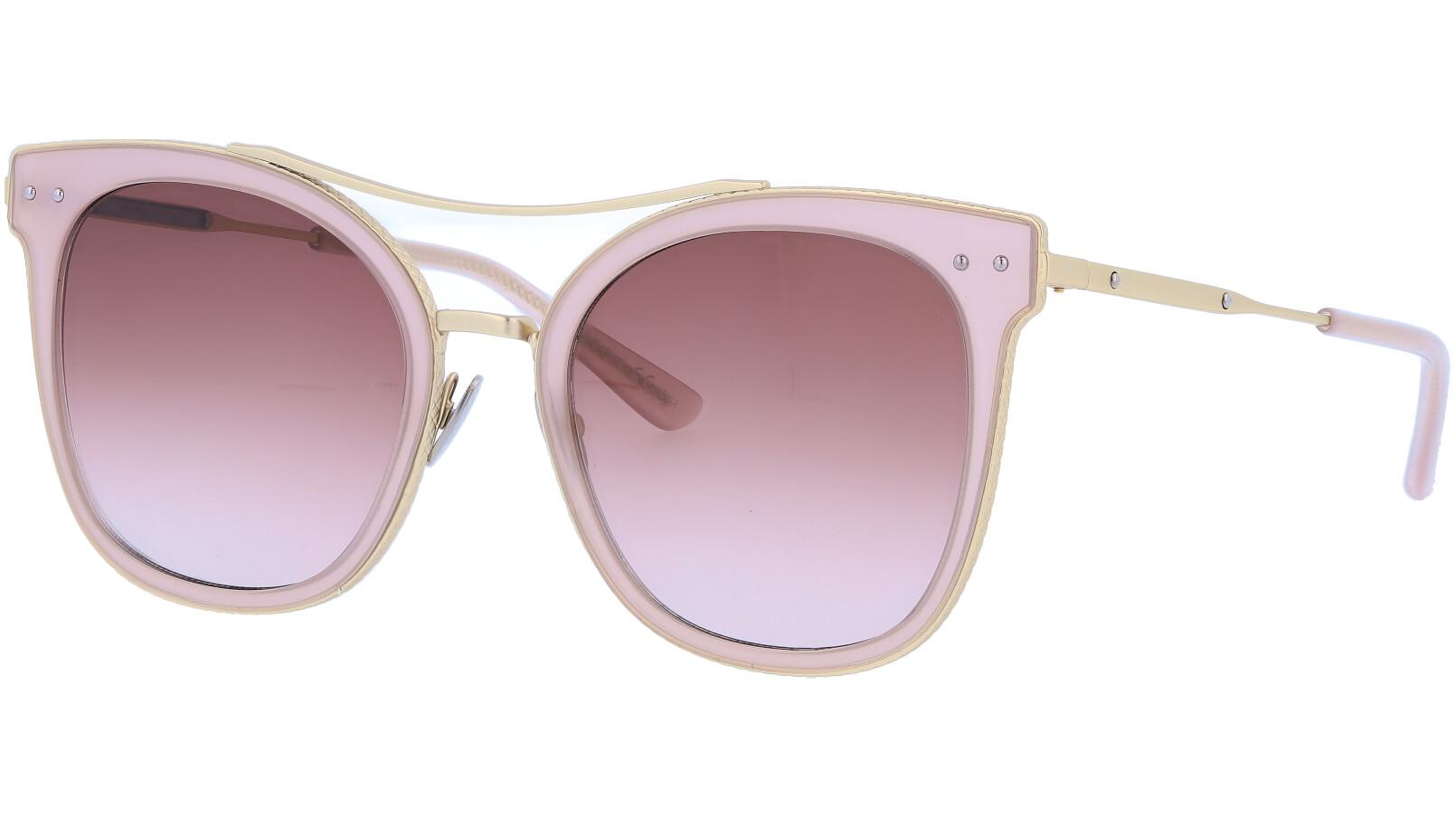 BOTTEGA VENETA BV0064S 003 53 PINK Sunglasses