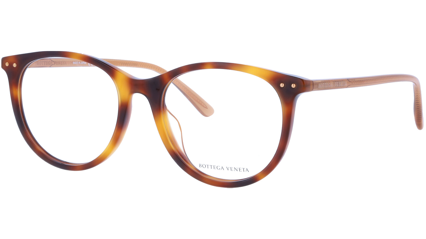 Bottega Veneta BV0215OA 002 53 Havana Glasses