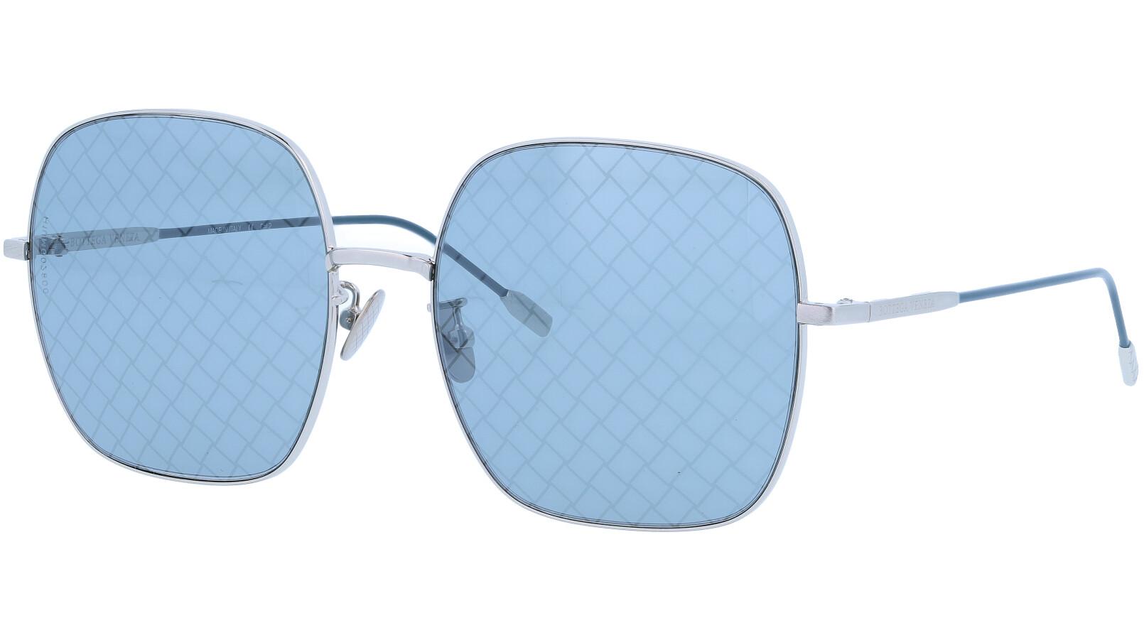 BOTTEGA VENETA BV0202S 002 58 SILVER Sunglasses