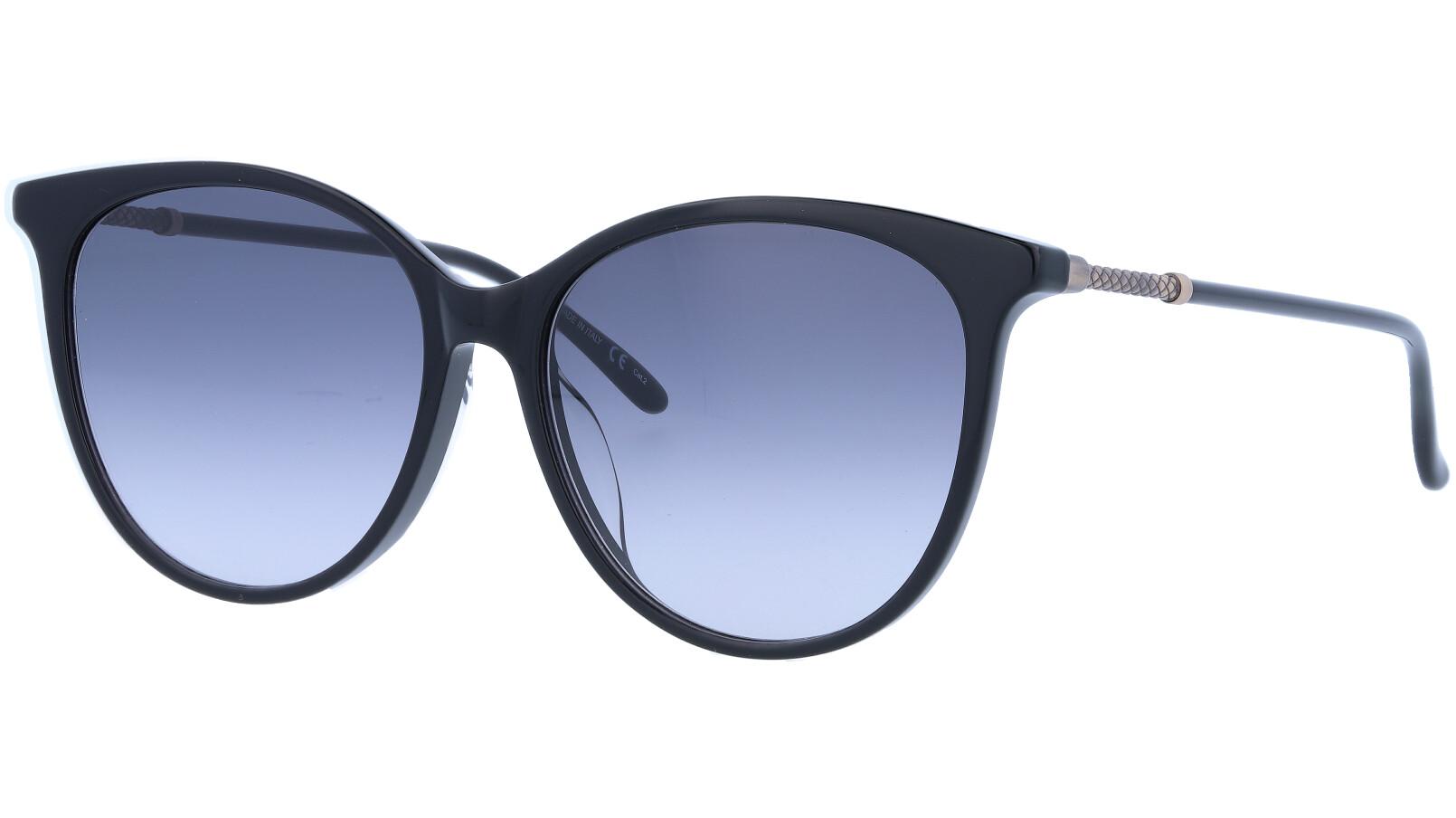 BOTTEGA VENETA BV0154SK 001 57 BLACK Sunglasses