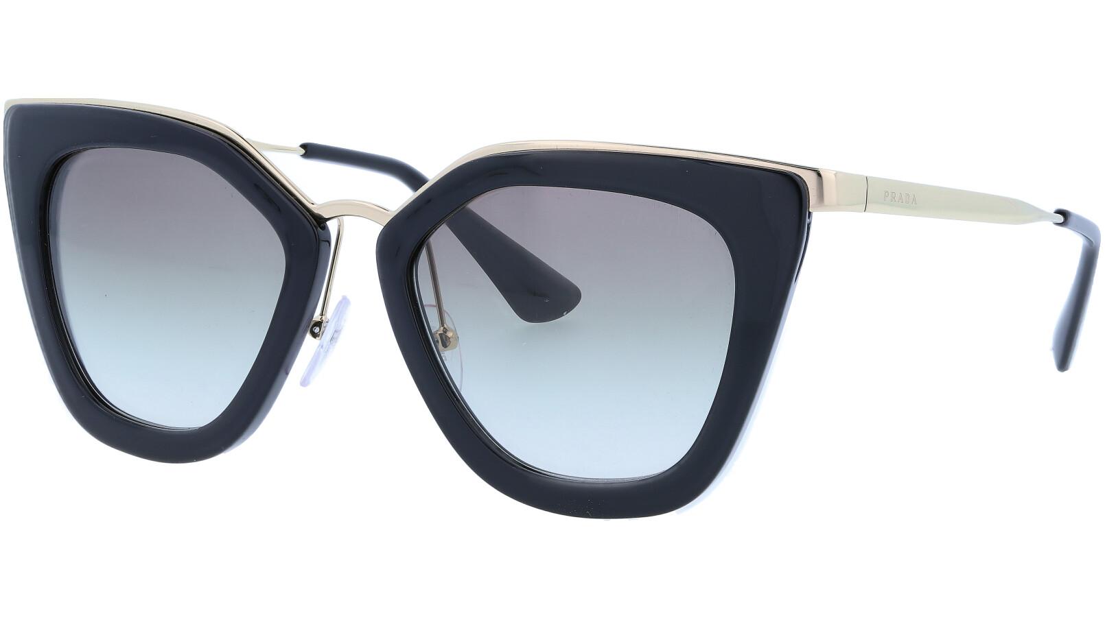 PRADA PR53SS 1AB0A7 52 BLACK Sunglasses