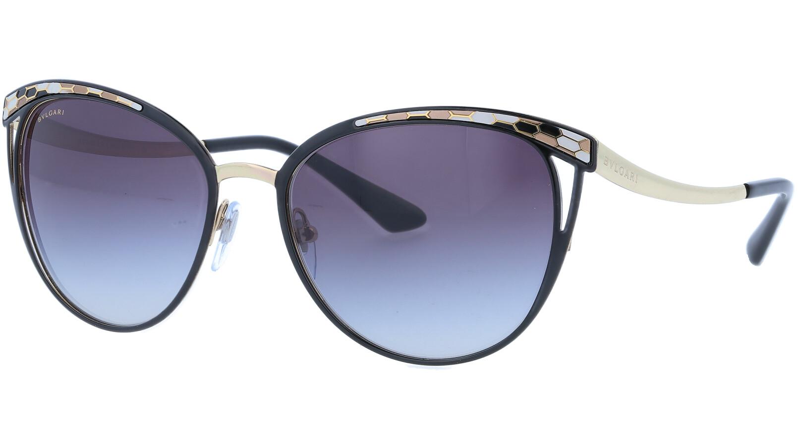 BVLGARI BV6083 20188G 56 BLACK Sunglasses