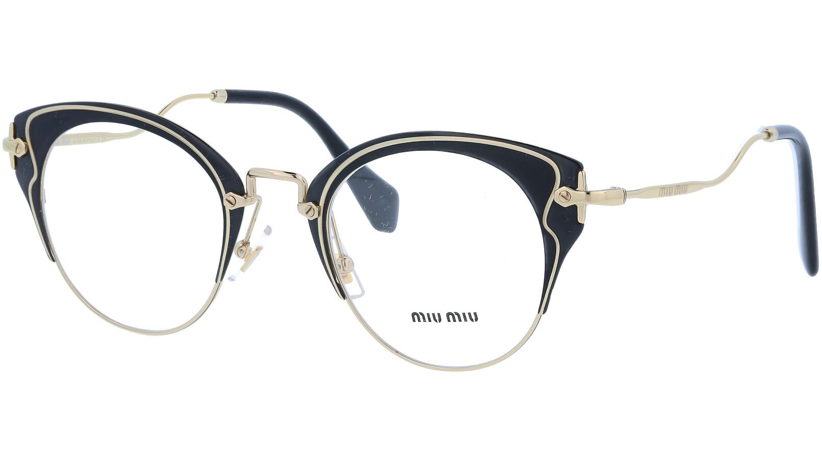 MIU MIU MU51PV 1AB1O1 50 BLACK Glasses