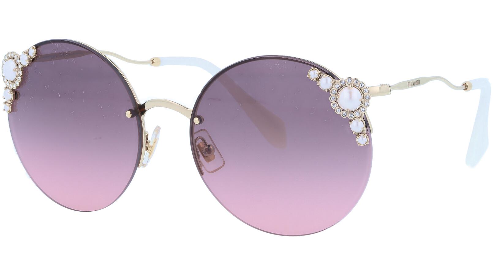 Miu Miu MU52TS VW7146 60 Pink Pearl Sunglasses