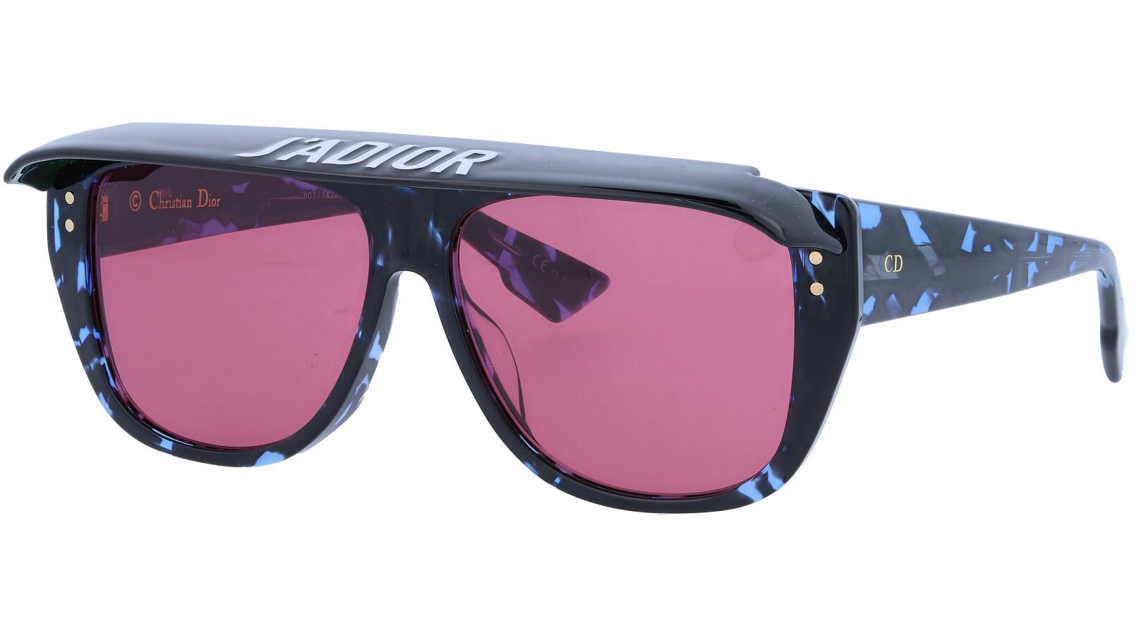 Dior CLUB2 086H0 56 Dark Sunglasses