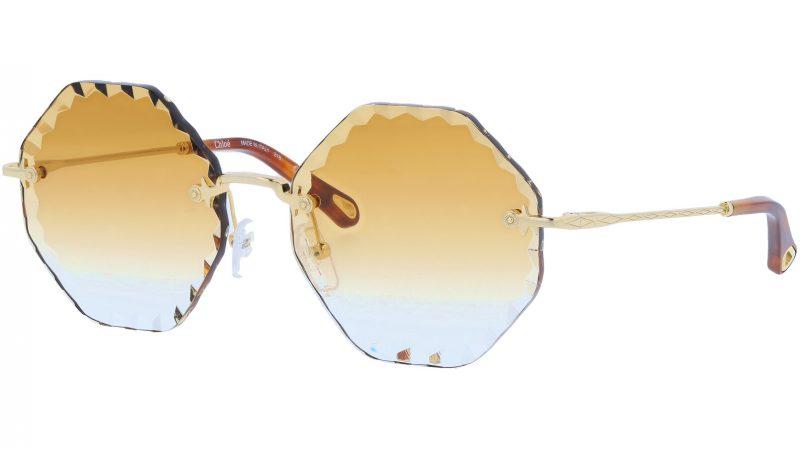 CHLOE Rosie CE143S 837 58 Gold Brown Sunglasses