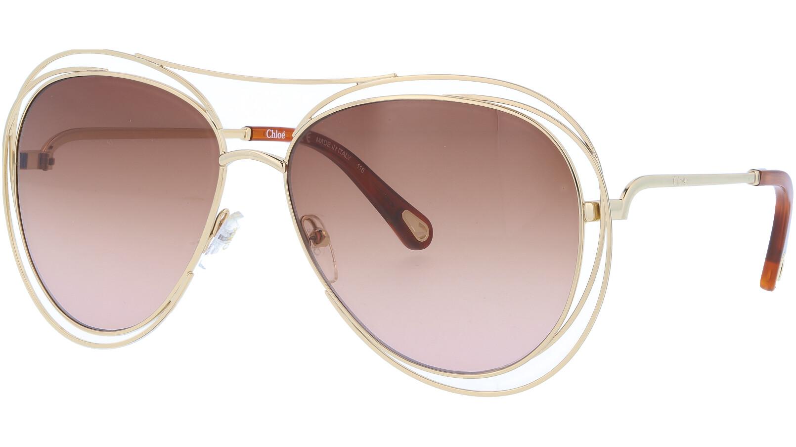 CHLOE CE134S 791 61 GOLD Sunglasses