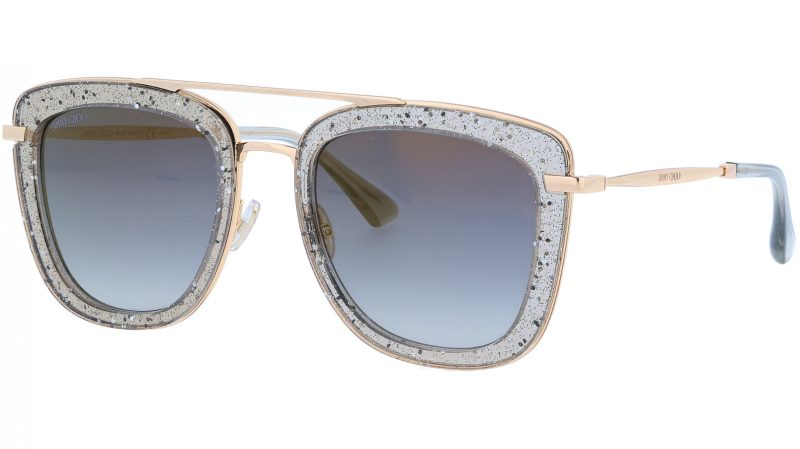 JIMMY CHOO GLOSSYS KB7FQ 53 GREY Sunglasses