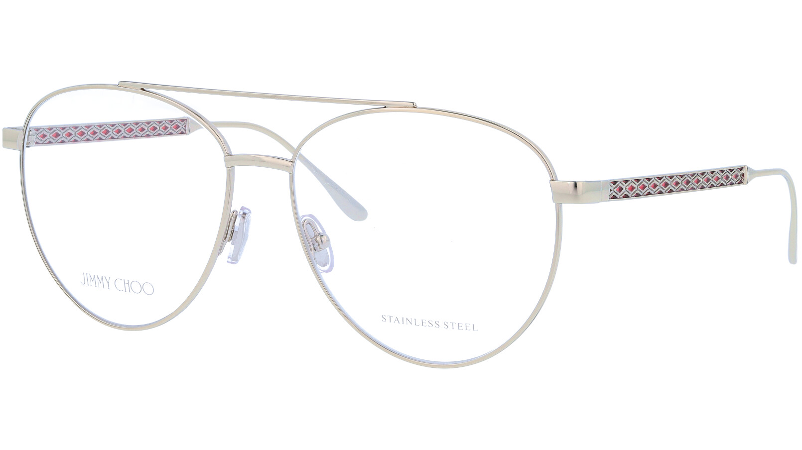 Jimmy Choo JC216 Y11 58 Gold Glasses
