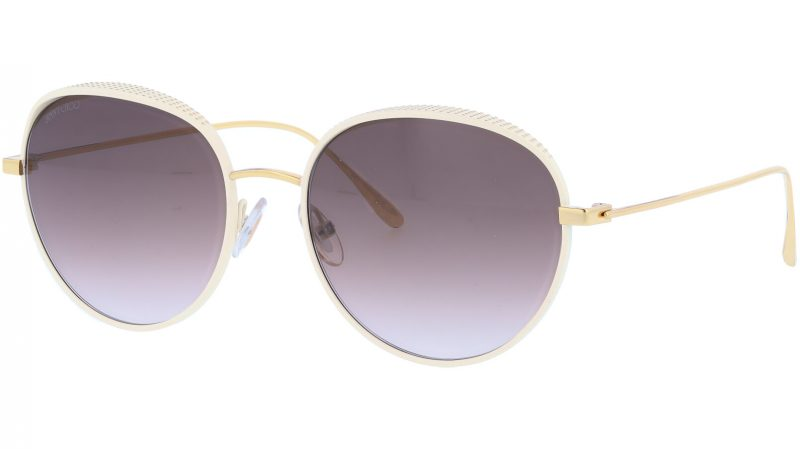 JIMMY CHOO ELLOS ONRJS 56 WHITE Sunglasses