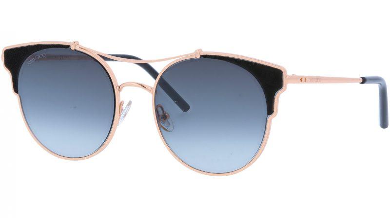 Jimmy Choo LUES RHL1I 59 Gold Sunglasses