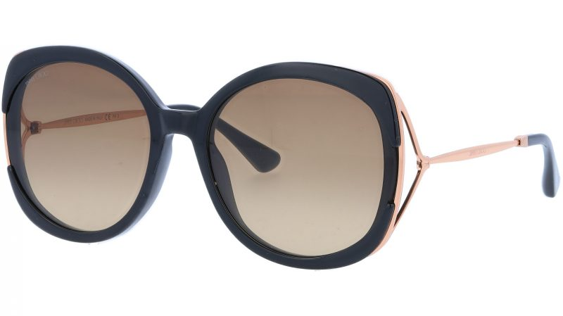 JIMMY CHOO LILAS 2M2HA 60 BLACK Sunglasses