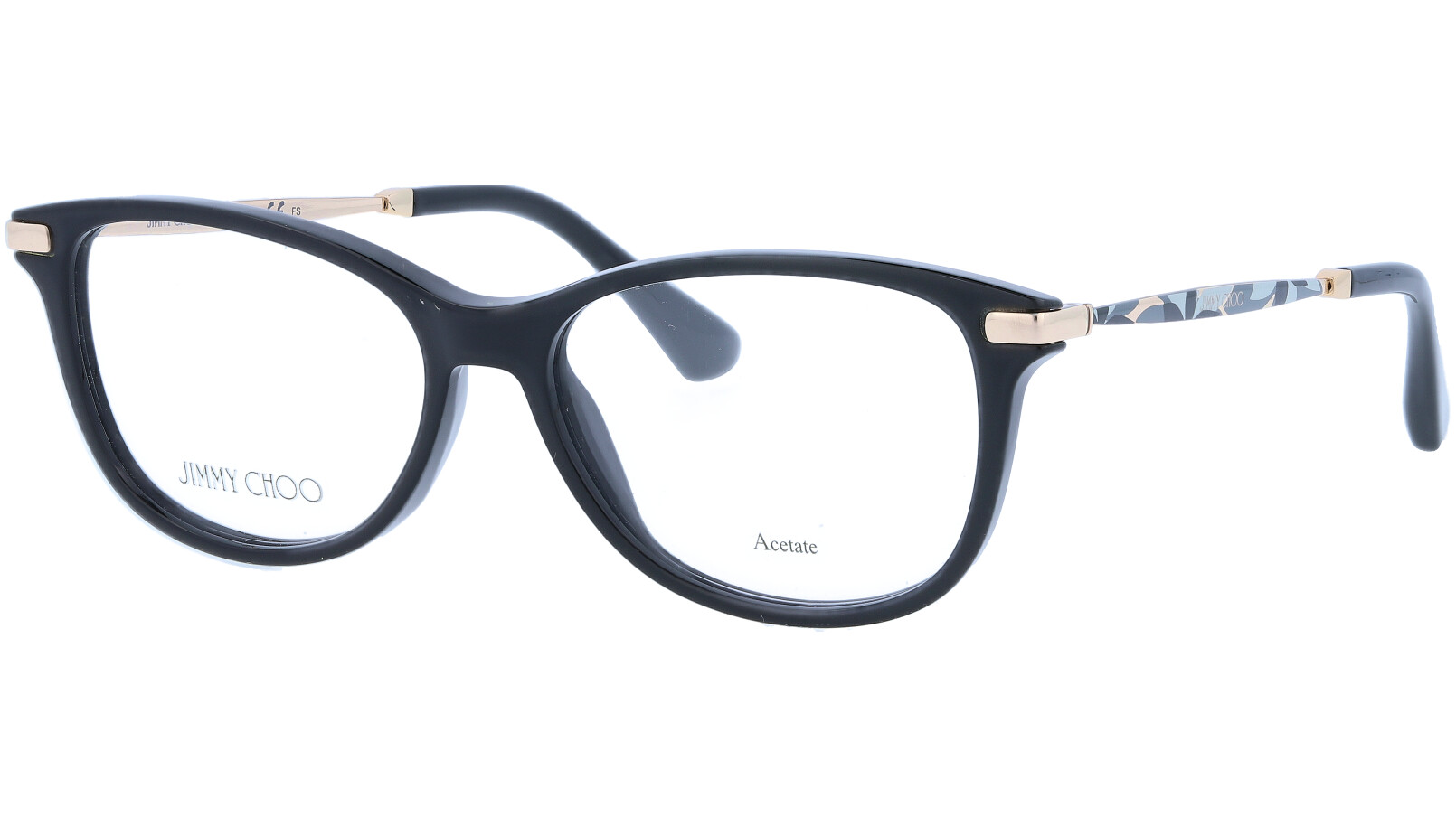 JIMMY CHOO JC207 807 52 BLACK Glasses