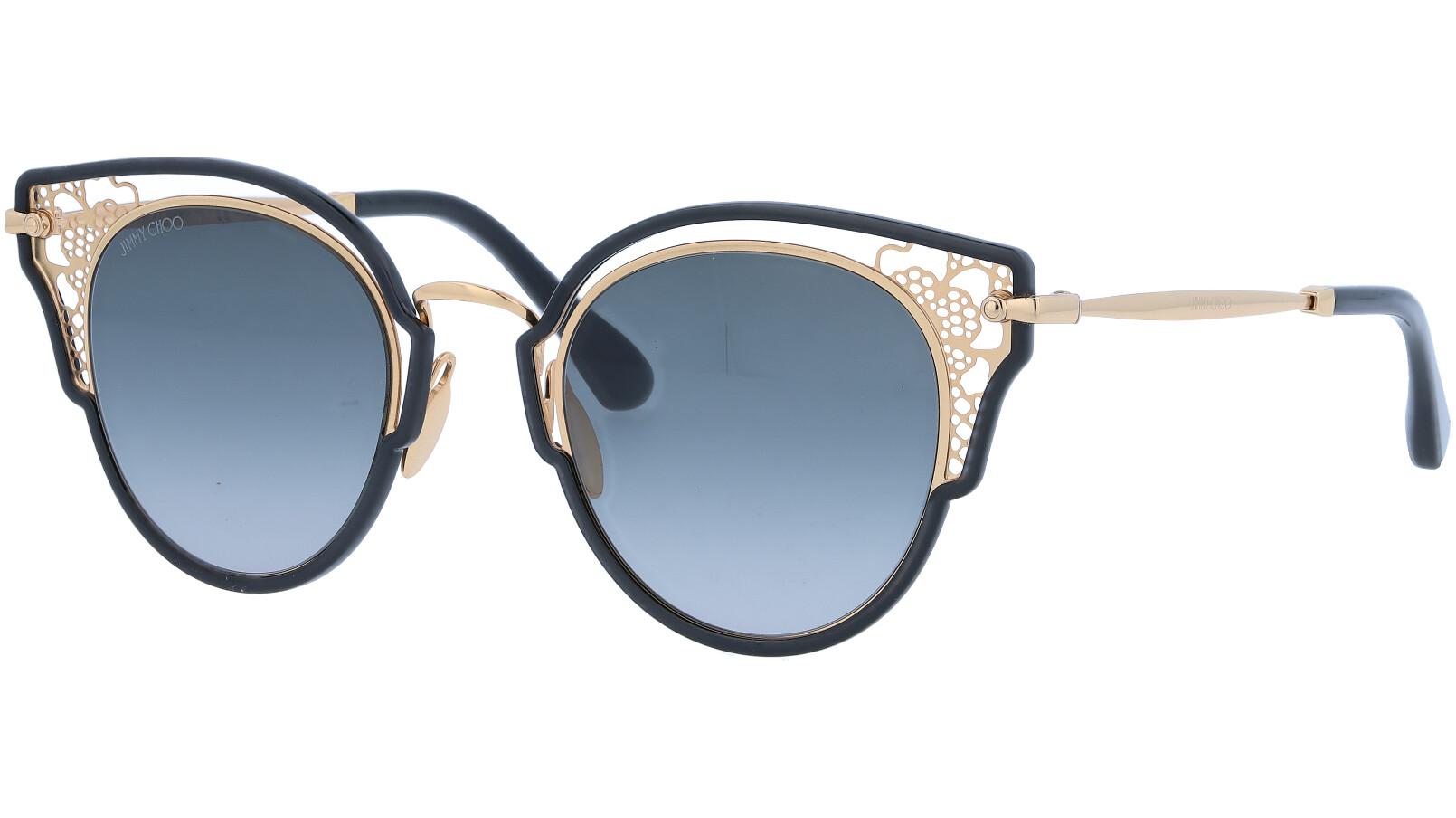 JIMMY CHOO DHELIAS 2M290 48 BLACK Sunglasses