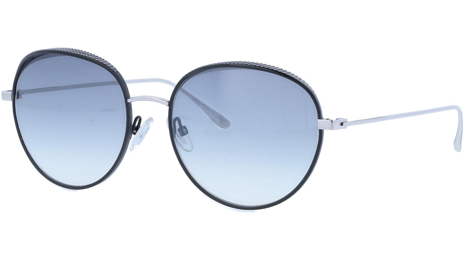 JIMMY CHOO ELLOS JINIC 56 BLACK Sunglasses