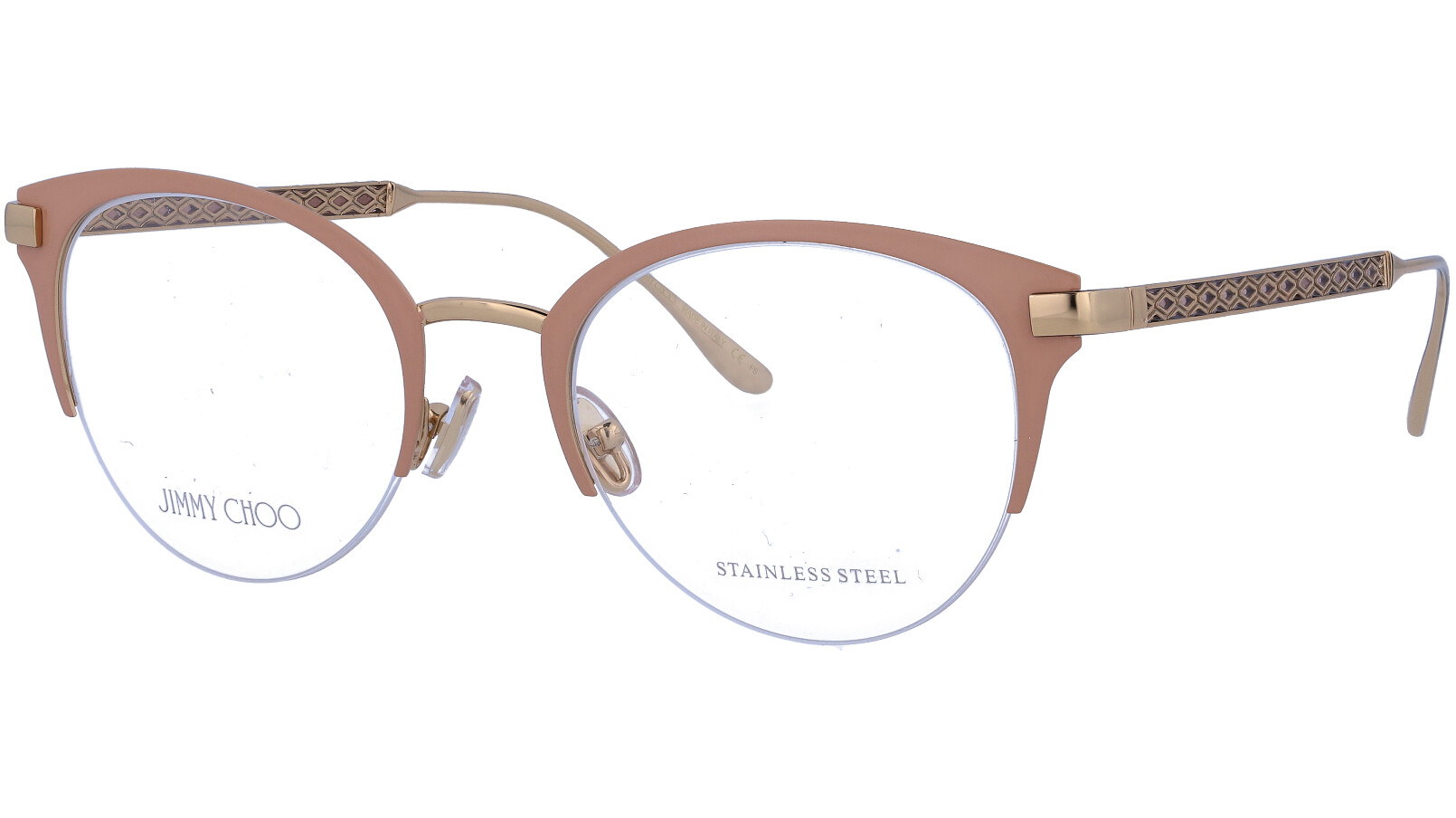 JIMMY CHOO JC215 FWM 50 NUDE Glasses