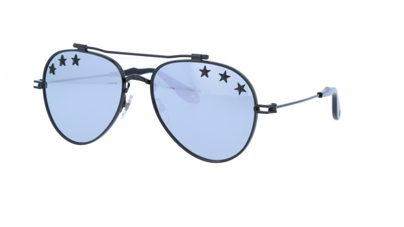 GIVENCHY GV7057STARS 807DC 58 BLACK Sunglasses