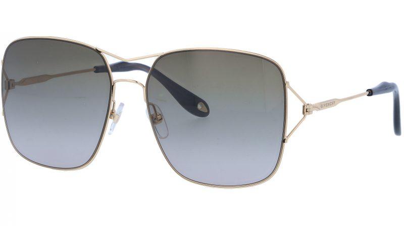 GIVENCHY GV7004S J5GHA 58 GOLD Sunglasses