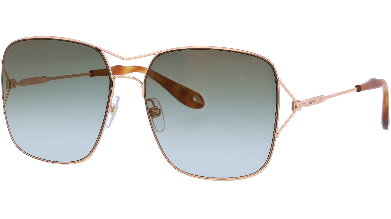 GIVENCHY GV7004S DDBCS 58 GOLD Sunglasses
