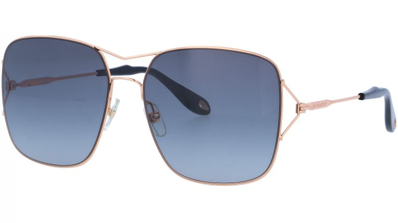 GIVENCHY GV7004S DDBHD 58 GOLD Sunglasses