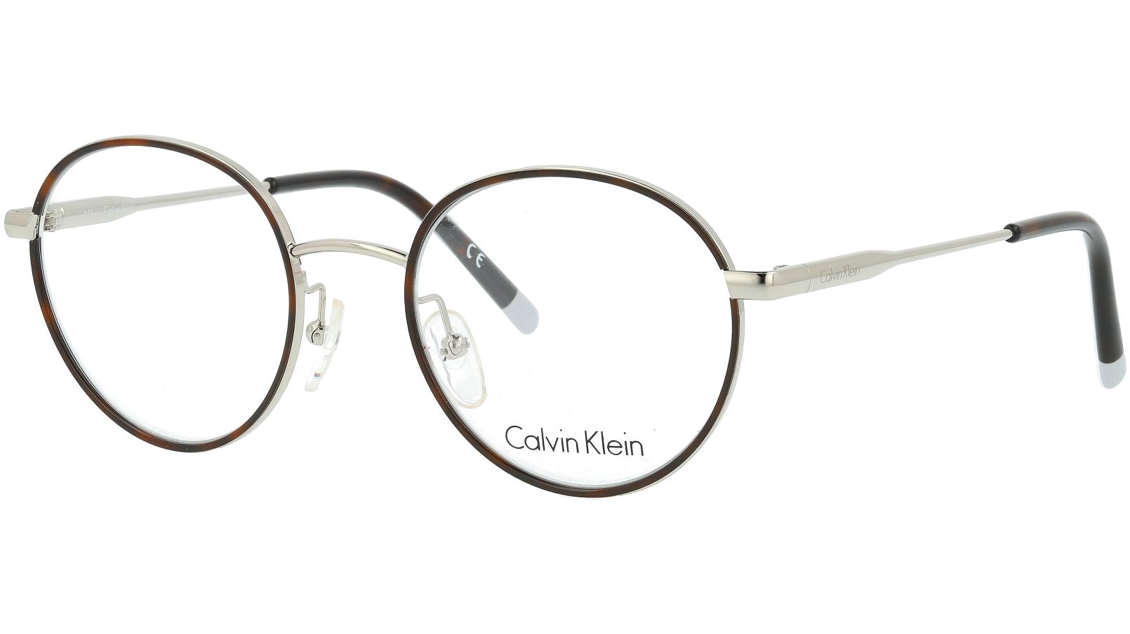 Calvin Klein CK5449 046 50 Silver Glasses